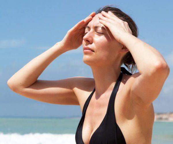 Солнечный удар женщина