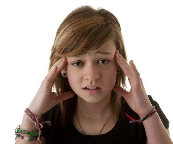 Подросток головная боль