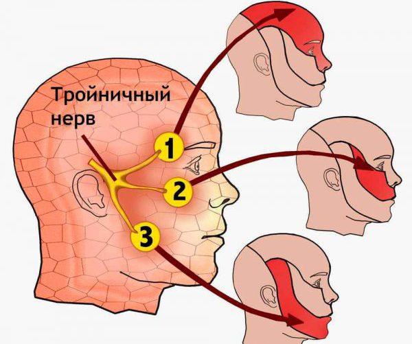 Троичный лицевой нерв