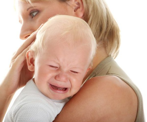 Младенец травма головы