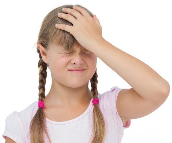 Травма головы ребенок
