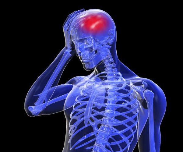 Недостаток кислорода мозг