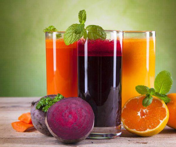 Свекольный морковный сок