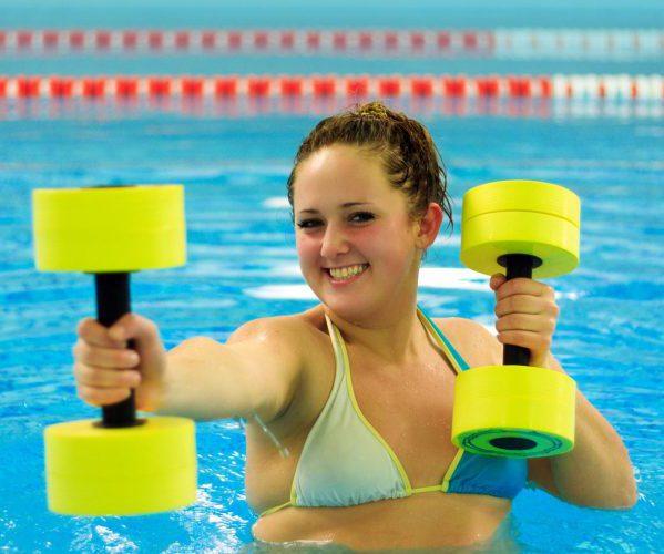 Тренировка бассейн